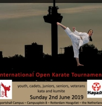 International Open Rotterdam Cup 2019  -  02.06.2019 , Holandia  - ZDUBYTY !!!