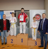 "Udany start karateków na ""FIGHTER CUP"""